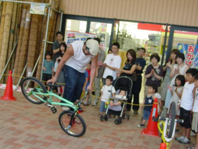自転車イベント風景