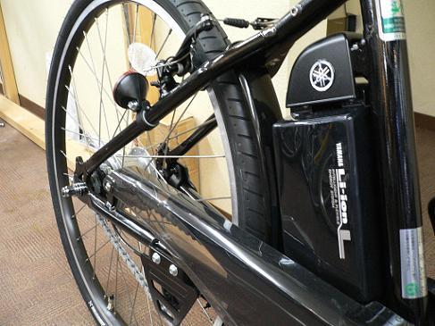 ヤマハ/パスブレイスエル/PASBrace-L/PV26SL/スポーツ/クロスバイク/電動アシスト自転車/大容量/b