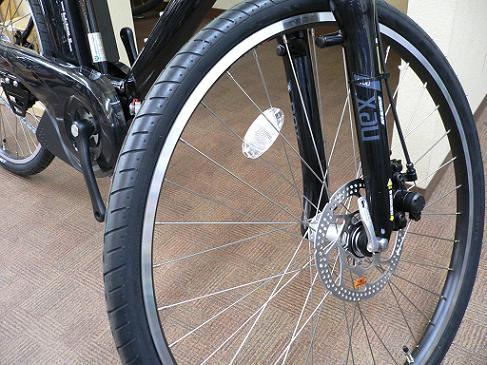 ヤマハ/パスブレイスエル/PASBrace-L/PV26SL/スポーツ/クロスバイク/電動アシスト自転車/大容量/c