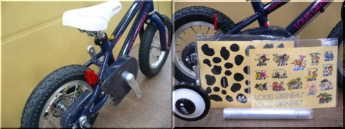 2012/LOUISGARNEAU/ルイガノ/KIDSBIKE/キッズバイク/LGS-J12/可愛い初めて安全/c