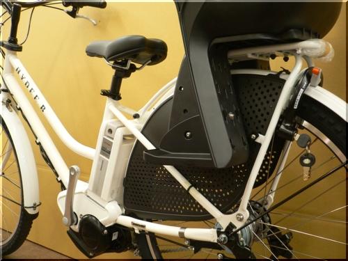 ブリヂストン/VERYコラボ/HYDEE.Bハイディビー/HY6L61/電動アシスト自転車/ハンサムチャイルドシート/ホワイト/c