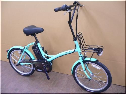 2011/パナソニック/シュガードロップ/BE-ENCS033/小径車/低床小柄/可愛い電動アシスト自転車/特価激安/b