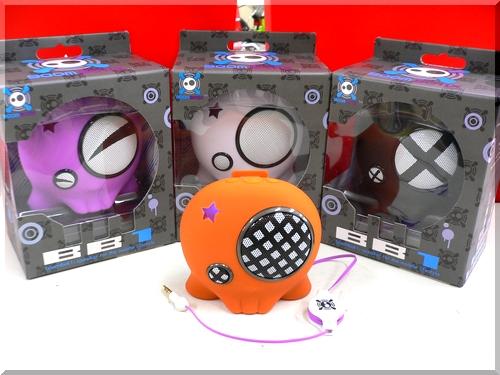 BOOMBOTIX BB-1/ブームボティックス/携帯型のコンパクトなスピーカー/USB充電式/a