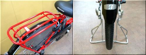 BRIDGESTONEブリヂストン/2012H24年2月モデル/アンジェリーノアシスタ/A26L82/ 親子3人乗り自転車/幼児2人同乗可能/チャイルドケアバイク/e