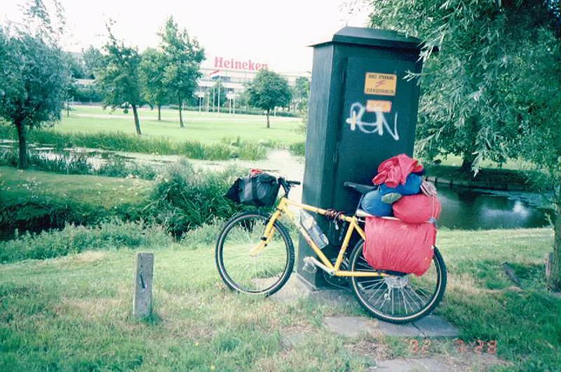 オランダへの自転車旅行