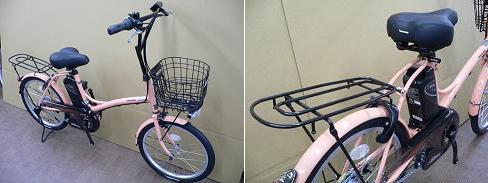 2010/パナソニック/シュガードロップ/BE-ENCS03/小径車/低床小柄/可愛い電動アシスト自転車/特価激安/d