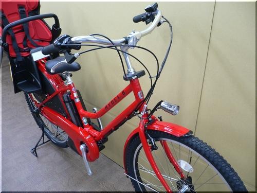 ブリヂストン/VERYコラボ/HYDEE.Bハイディビー/HY6L61/電動アシスト自転車/ハンサムチャイルドシート/b