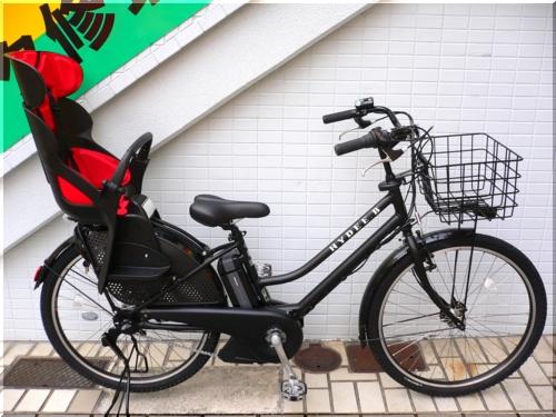 ブリヂストン/VERYコラボ/HYDEE.Bハイディビー/HY6L61/電動アシスト自転車/ハンサムチャイルドシート/フロントバスケット/a