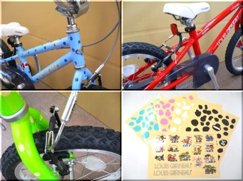 2012/LOUISGARNEAU/ルイガノ/KIDSBIKE/キッズバイク/LGS-J16/可愛い初めて安全/d
