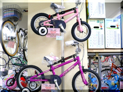 2012/LOUISGARNEAU/ルイガノ/KIDSBIKE/キッズバイク/LGS-J12/可愛い初めて安全/キャンペーンb