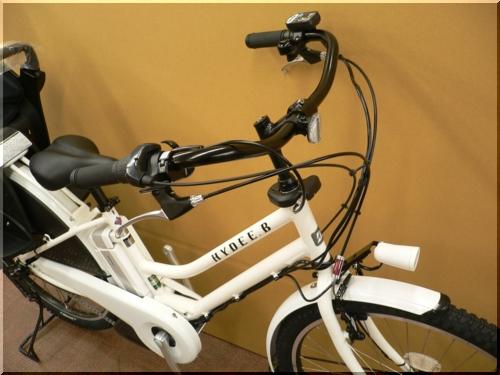 ブリヂストン/VERYコラボ/HYDEE.Bハイディビー/HY6L61/電動アシスト自転車/ハンサムチャイルドシート/ホワイト/b