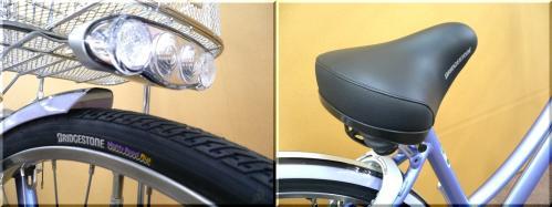2012H24年新モデル/アルベルトL型/AB6TPL-7TPL/ 通学通勤車/ベルト駆動式/漕ぎ出し楽/f