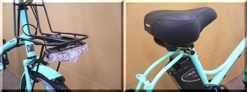 2011/パナソニック/シュガードロップ/BE-ENCS033/小径車/低床小柄/可愛い電動アシスト自転車/特価激安/c