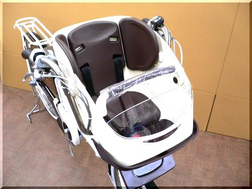 BRIDGESTONEブリヂストン/2012H24年2月モデル/アンジェリーノアシスタ/A26L82/ 親子3人乗り自転車/幼児2人同乗可能/チャイルドケアバイク/cc