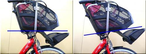 BRIDGESTONEブリヂストン/2012H24年2月モデル/アンジェリーノアシスタ/A26L82/ 親子3人乗り自転車/幼児2人同乗可能/チャイルドケアバイク/g